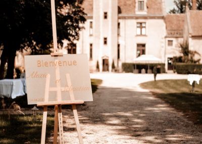 Chevalet + Welcomeboard personnalisé