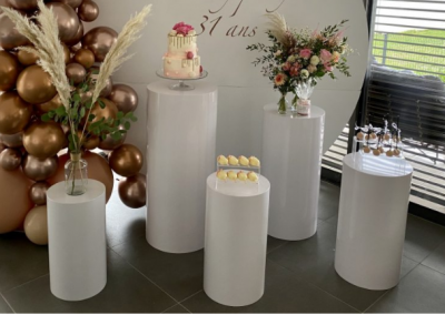 Tables cylindriques